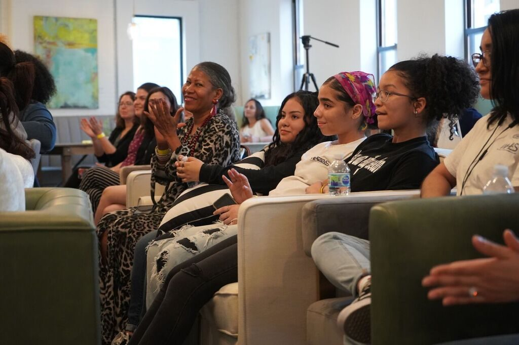Audience at the Teen Talk NYC