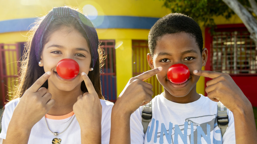 Girls Inc. is a grantee partner in Red Nose Day 2020