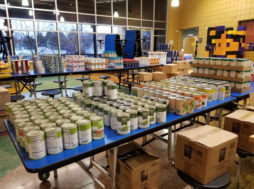 Girls Inc. of Sioux City started a foodbank to support girls and communities during the pandemic.