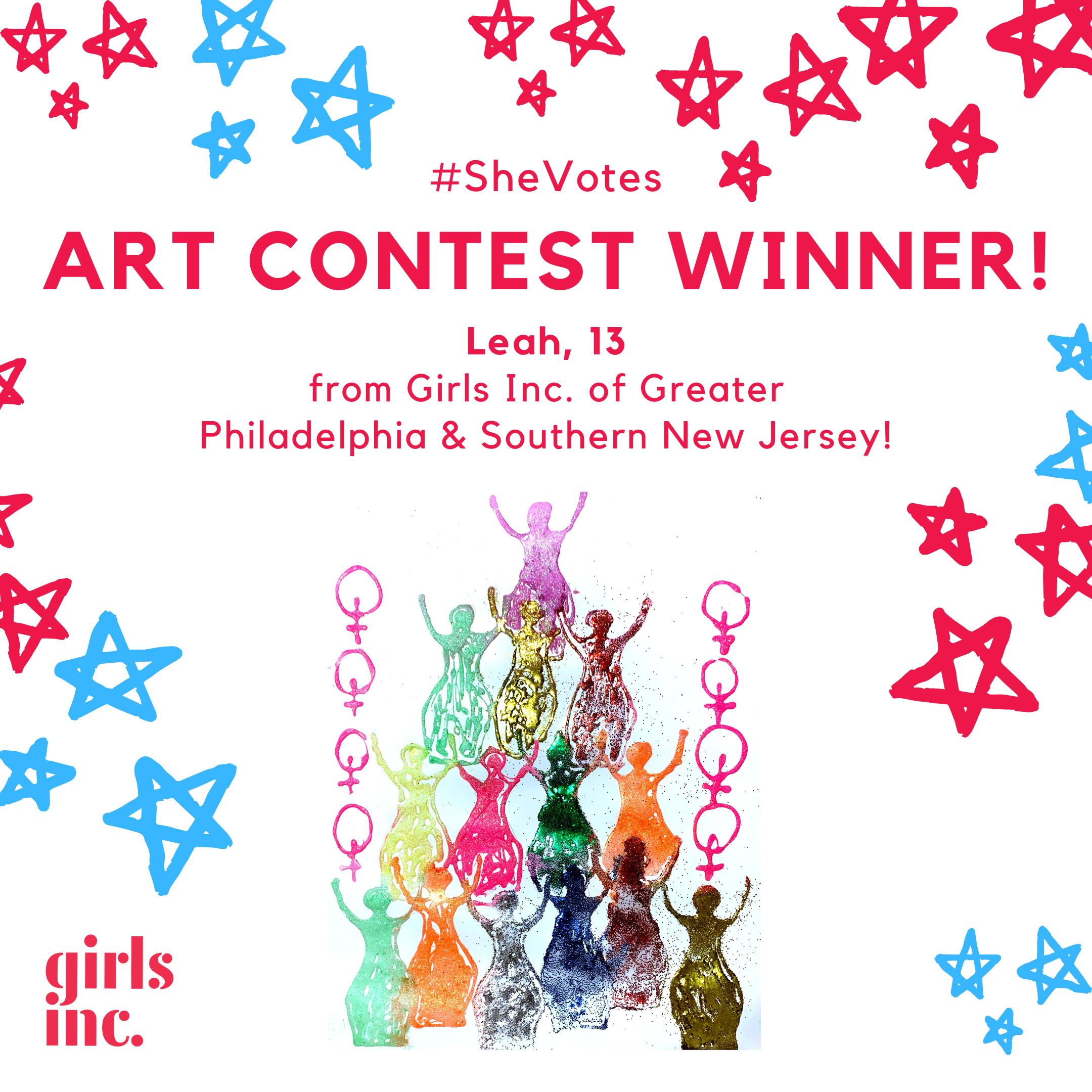 Art contest winner - Leah