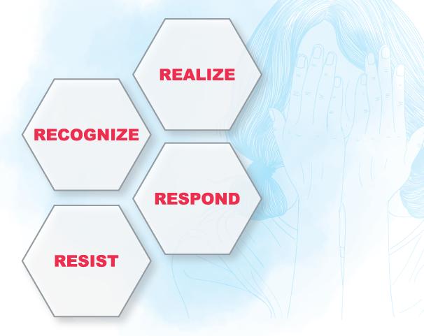 4 R's Key Elements of a Trauma Informed Approach