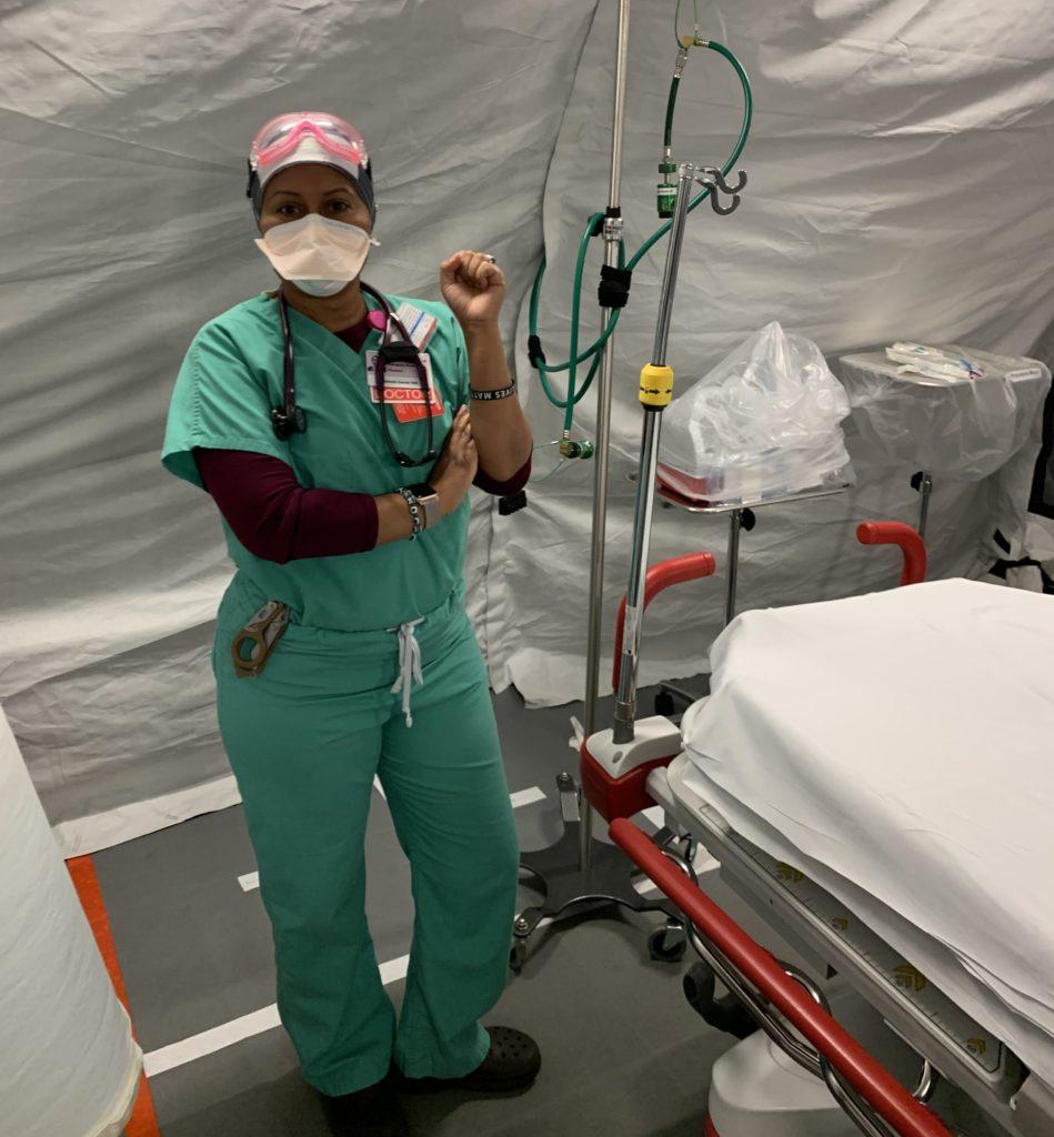 stephanie garcia alumna and emergency doctor