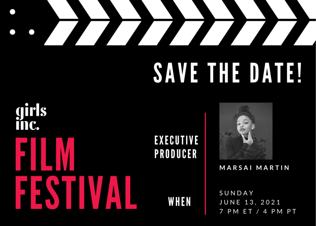save the date film festival with marsai martin, executive producer
